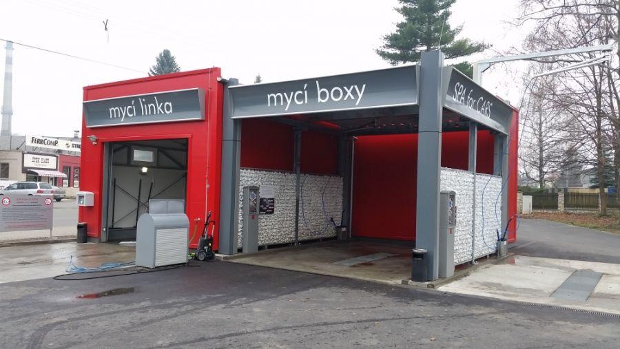 Montovaná hala pro SPA for CARS