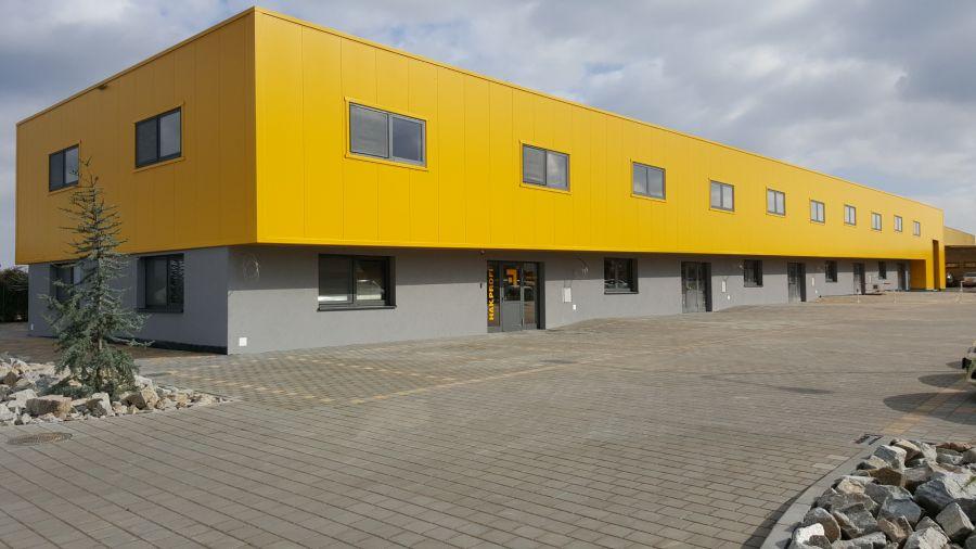 Montovaná hala pro MORAVANY administrativní objekt