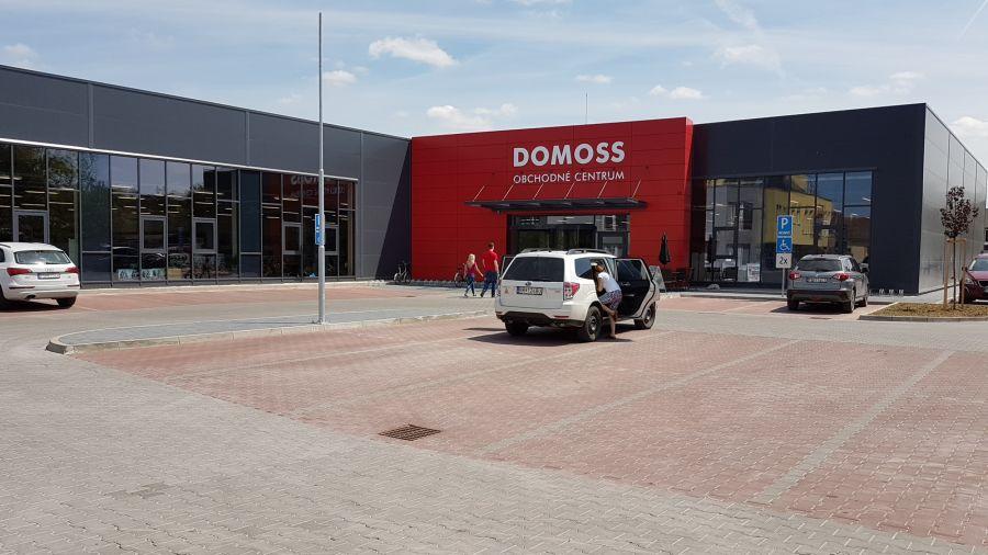 Montovaná hala pro DOMOSS 2013