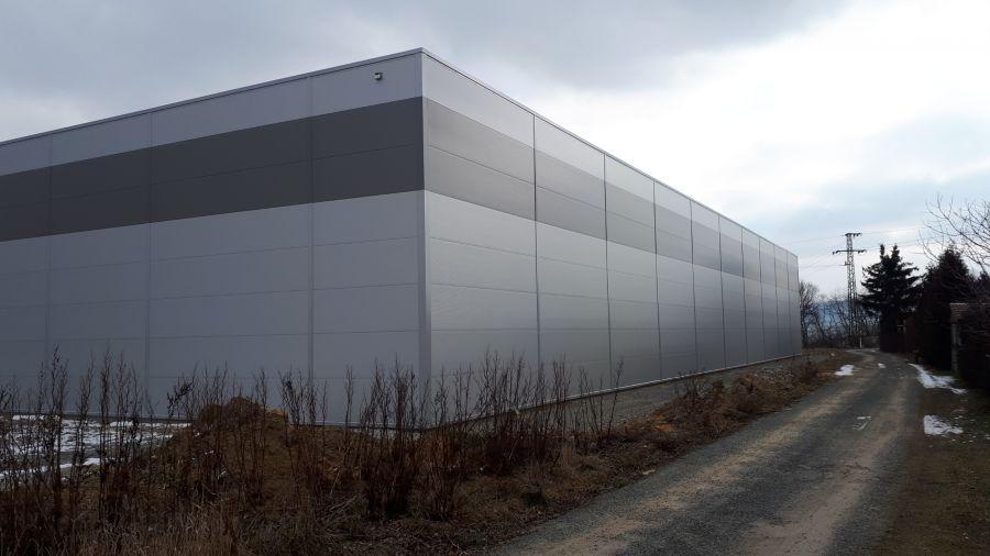 Montovaná hala pro KERAWEST