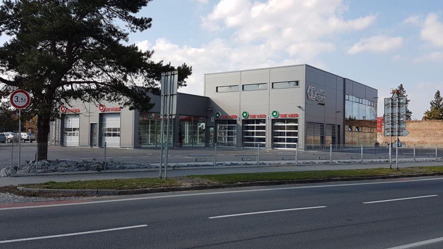 Montovaná hala pro AUTOCENTRUM Psota Břeclav