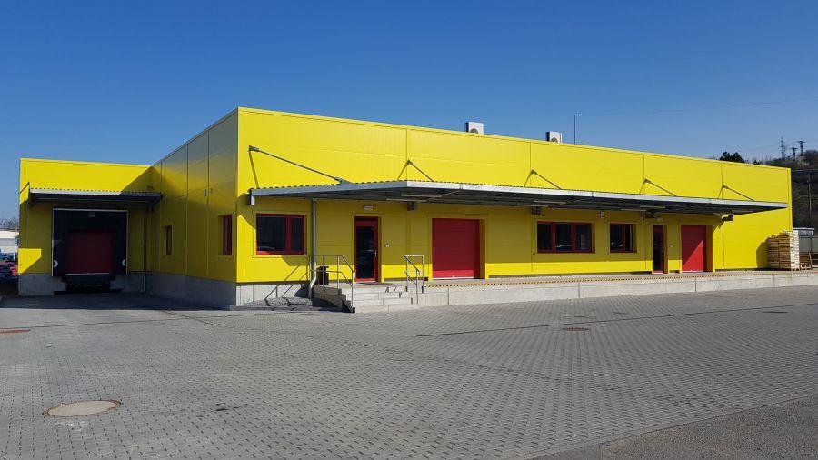 Montovaná hala pro Rudolf Míča
