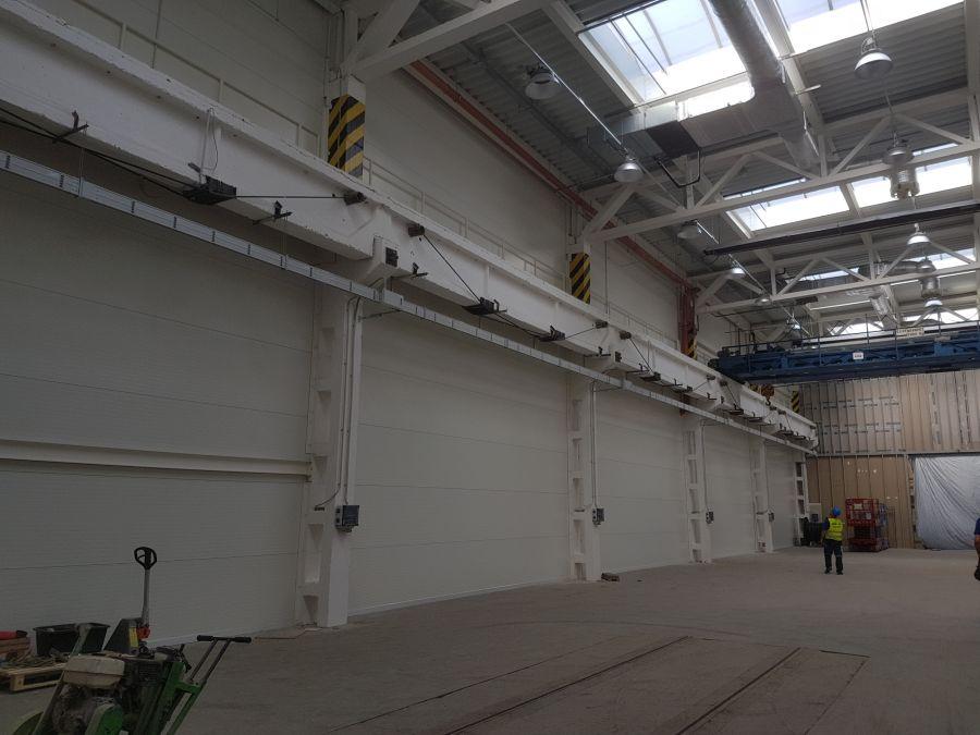 Montovaná hala pro Siemens