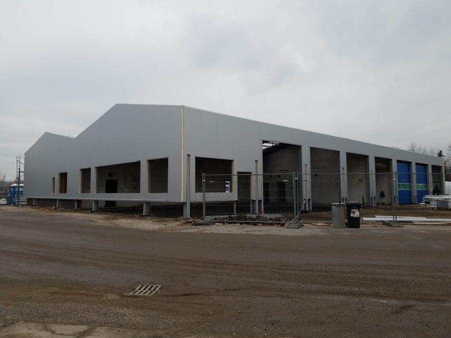 Montovaná hala pro ZIKUDA vodohospodářské stavby spol. sr.o.