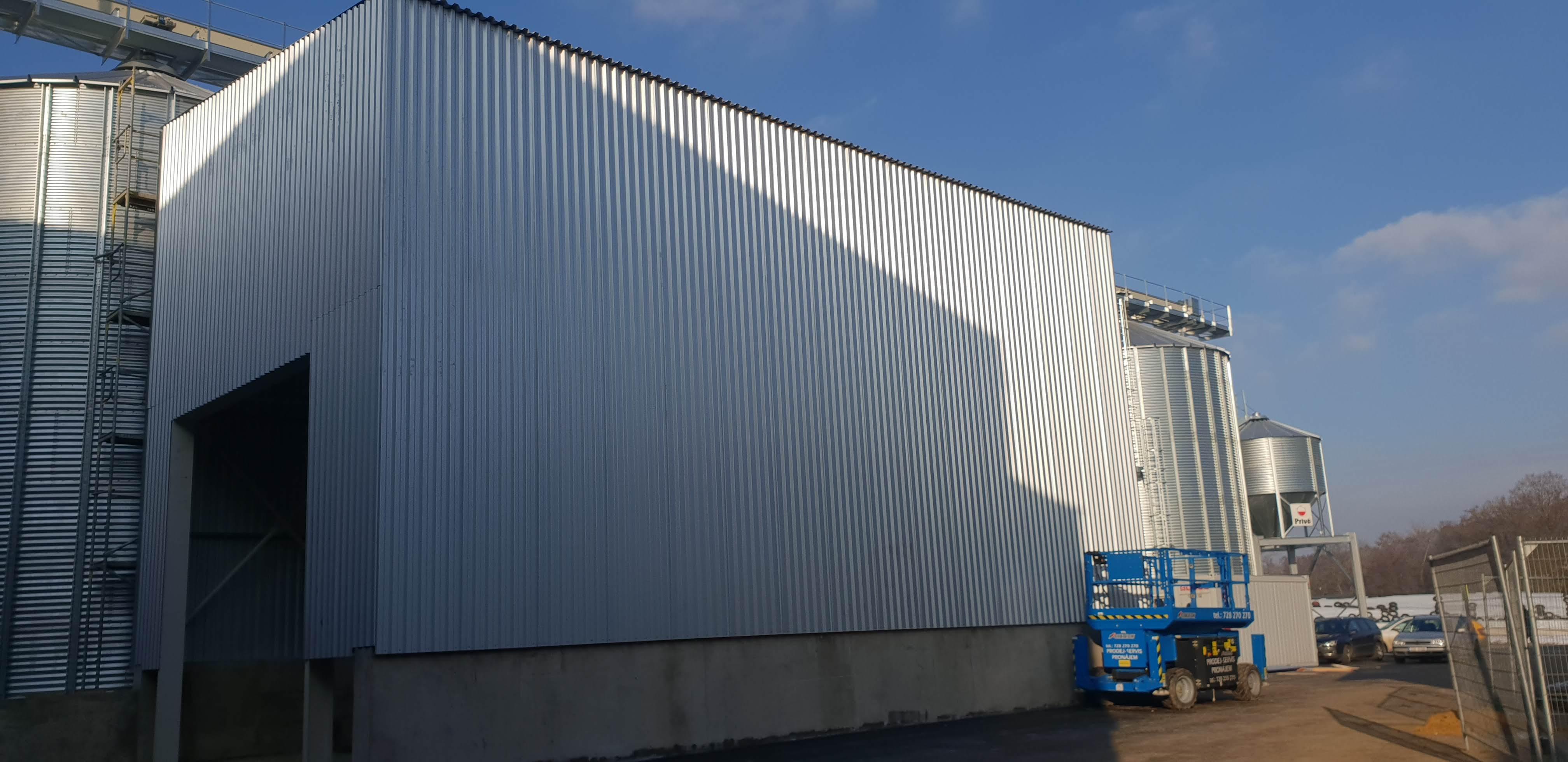 Montovaná hala pro ZEPO