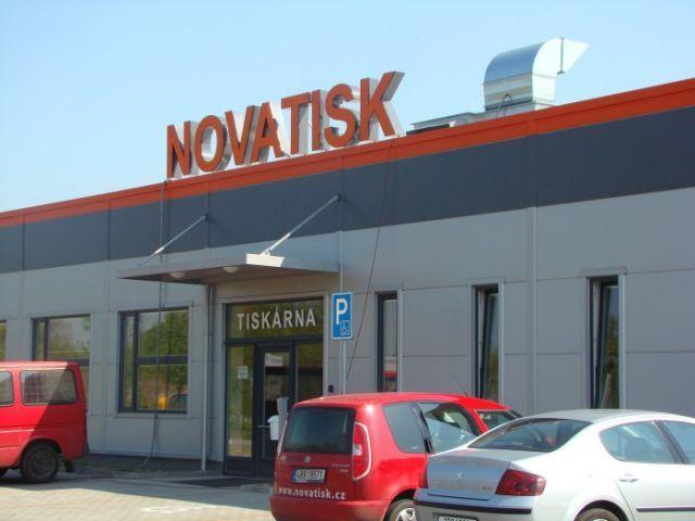 Montovaná hala pro NOVATISK a.s.