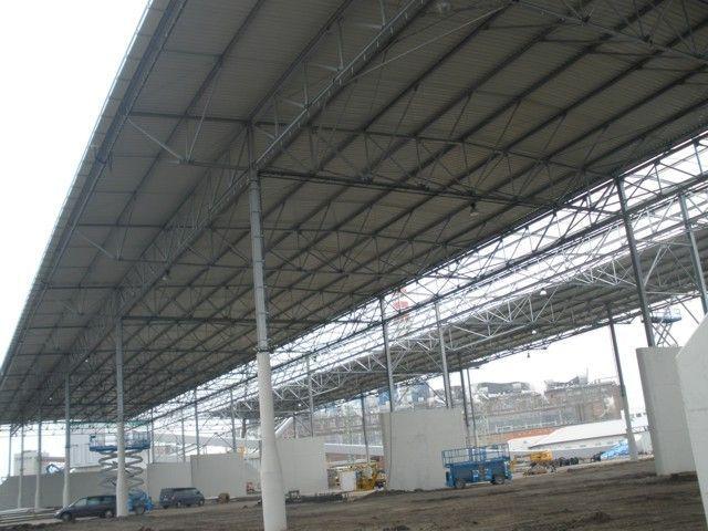 Montovaná hala pro UNITED ENERGY, a.s. – zastřešení