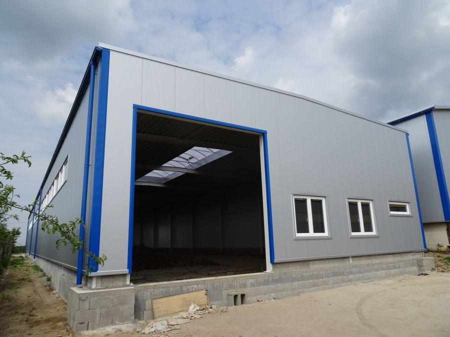 Montovaná hala pro NIMETAL