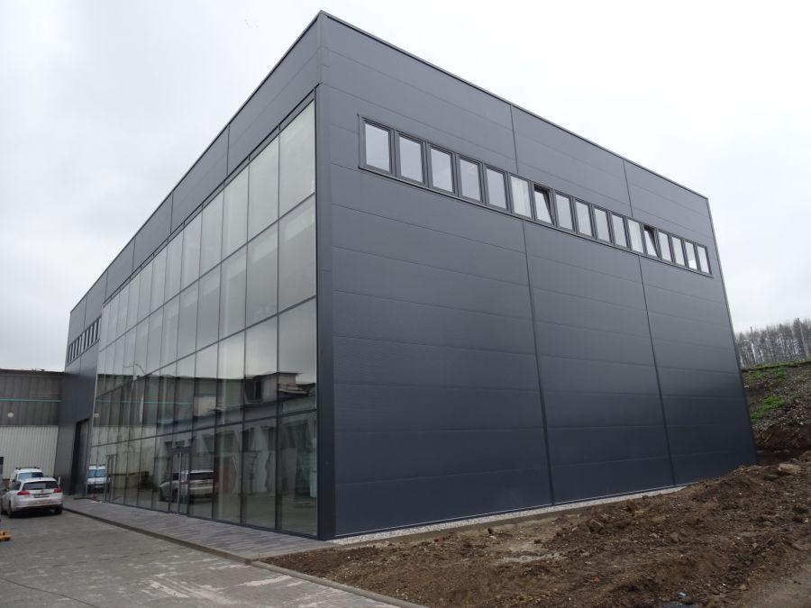 Montovaná hala pro BDS Benešov s.r.o.