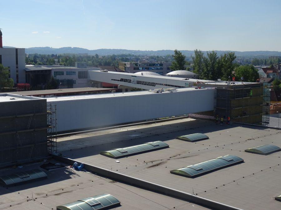 Montovaná hala pro BUDVAR II