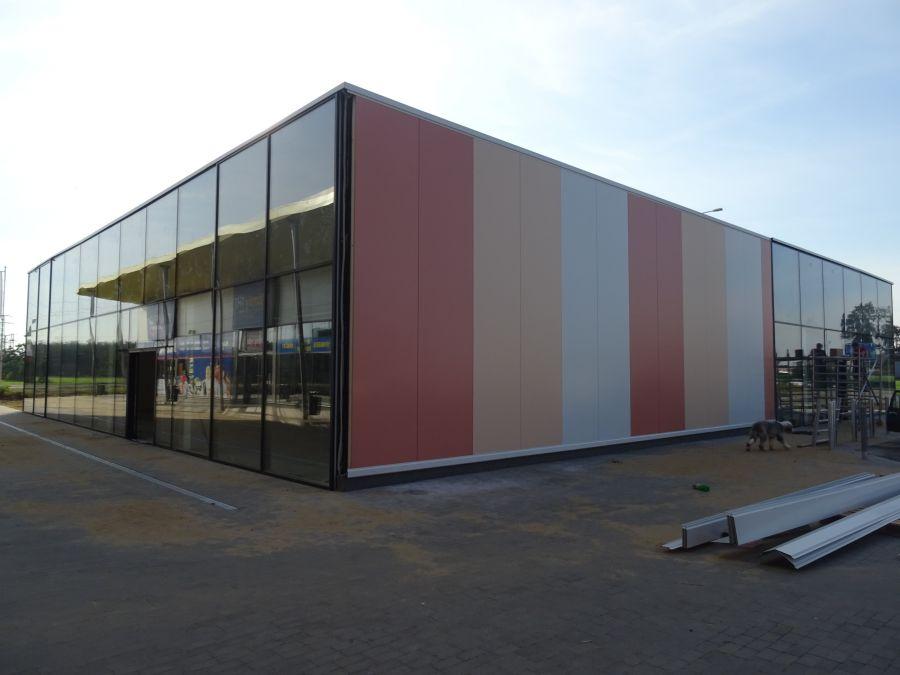 Montovaná hala pro NC Břeclav