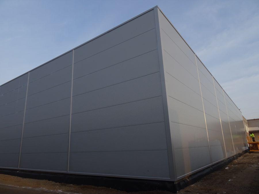 Montovaná hala pro Autocentrum Psota s.r.o. II.