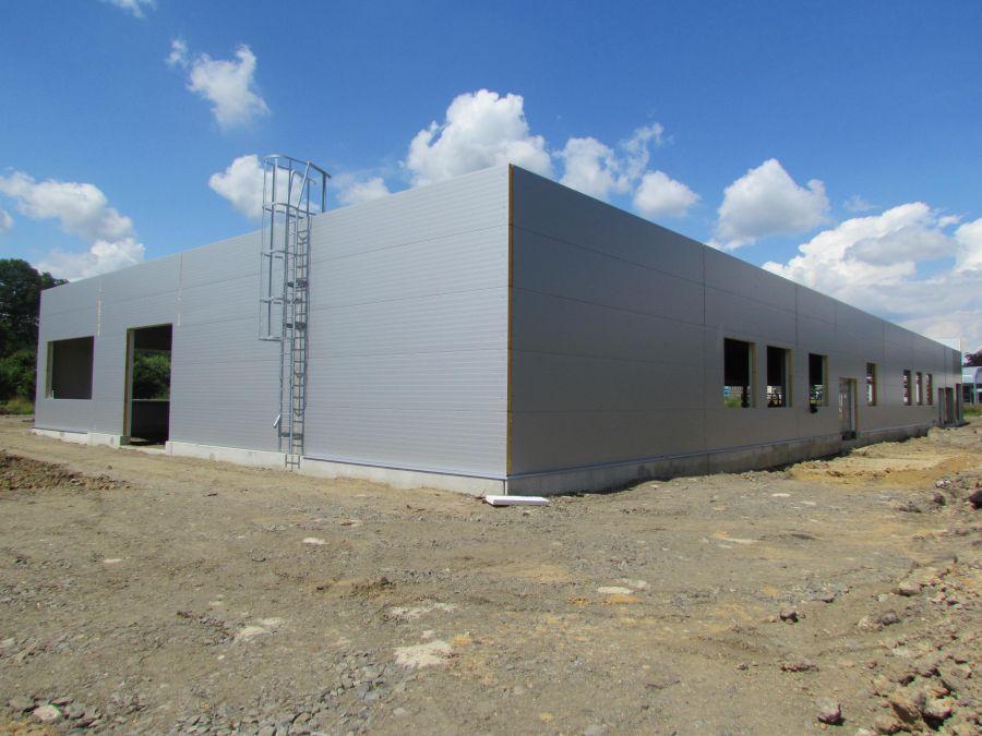 Montovaná hala pro MANDAVA TRADE