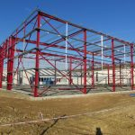 Montovaná hala pro KALINA Industries s.r.o.