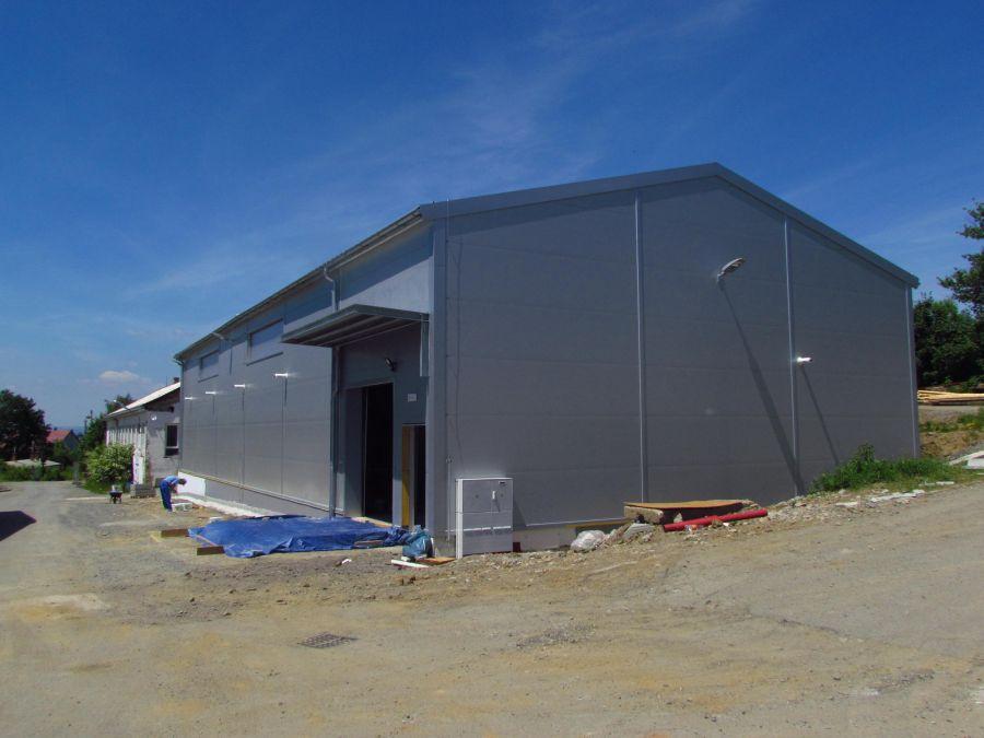 Montovaná hala pro Stavební mechanizace – Servis