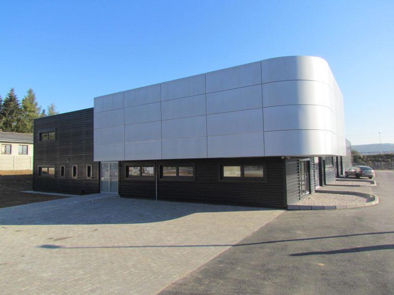 Montovaná hala pro Eurocorporate finance, s.r.o.