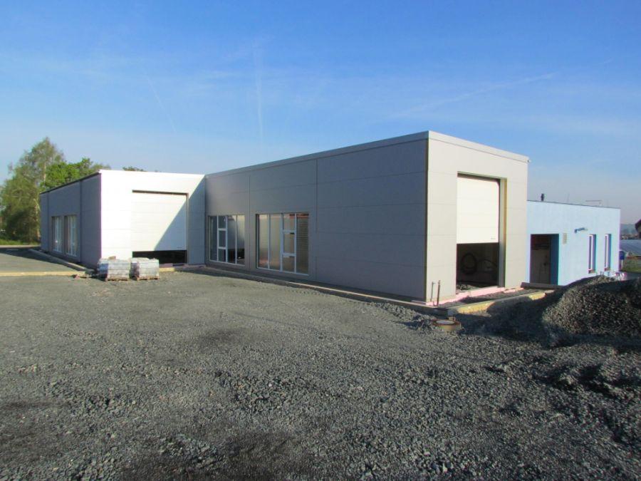Montovaná hala pro Areál služeb Vlašim – STK