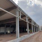 Montovaná hala pro Retail park Choceň