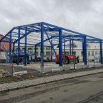Montovaná hala pro Centrum vzdělávání klempířů