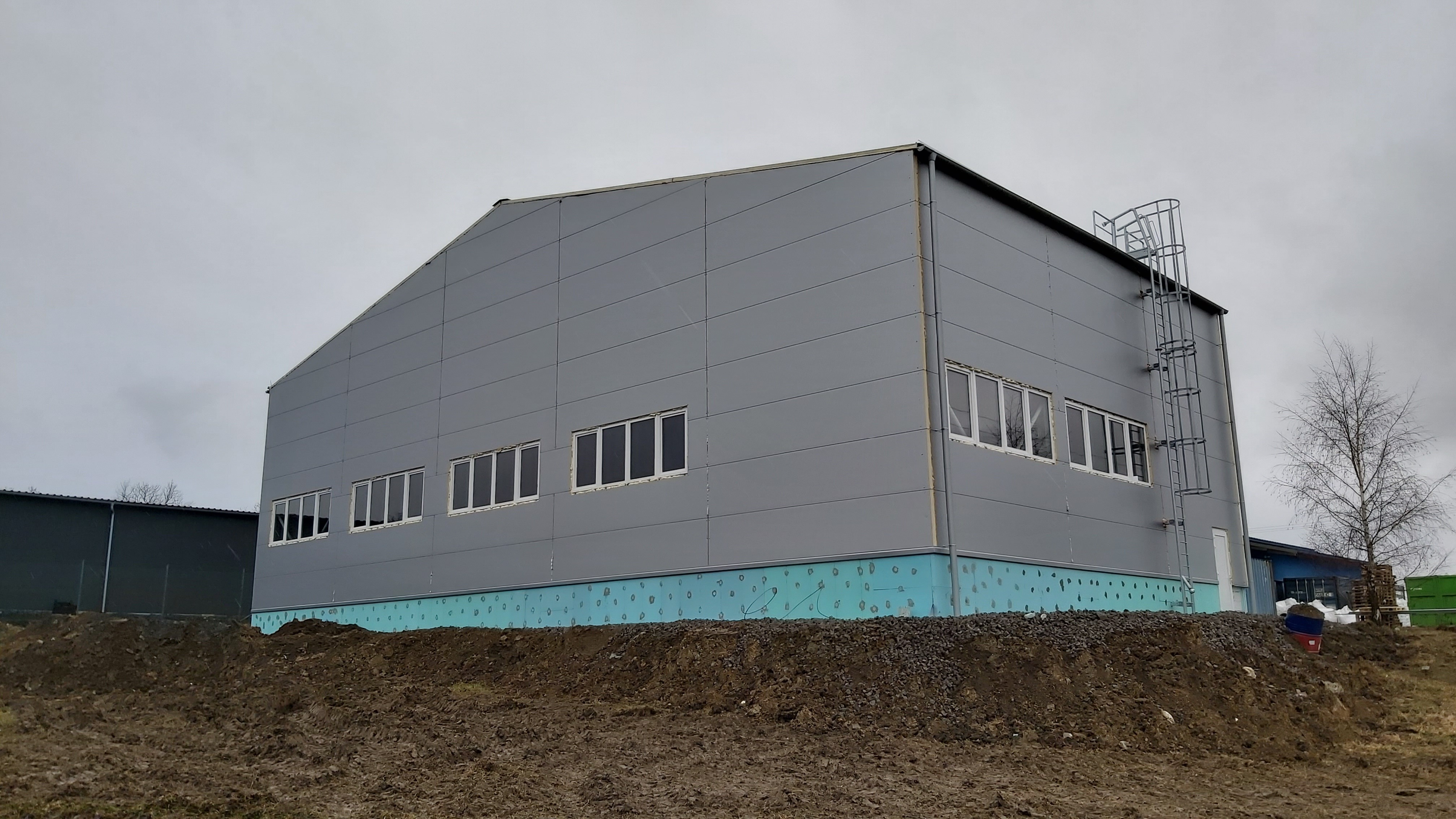 Montovaná hala pro MIDAI