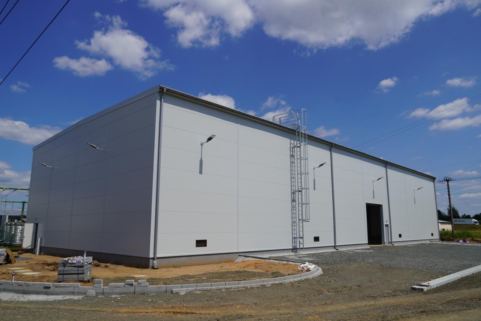 Montovaná hala pro ČEZ Distribuce