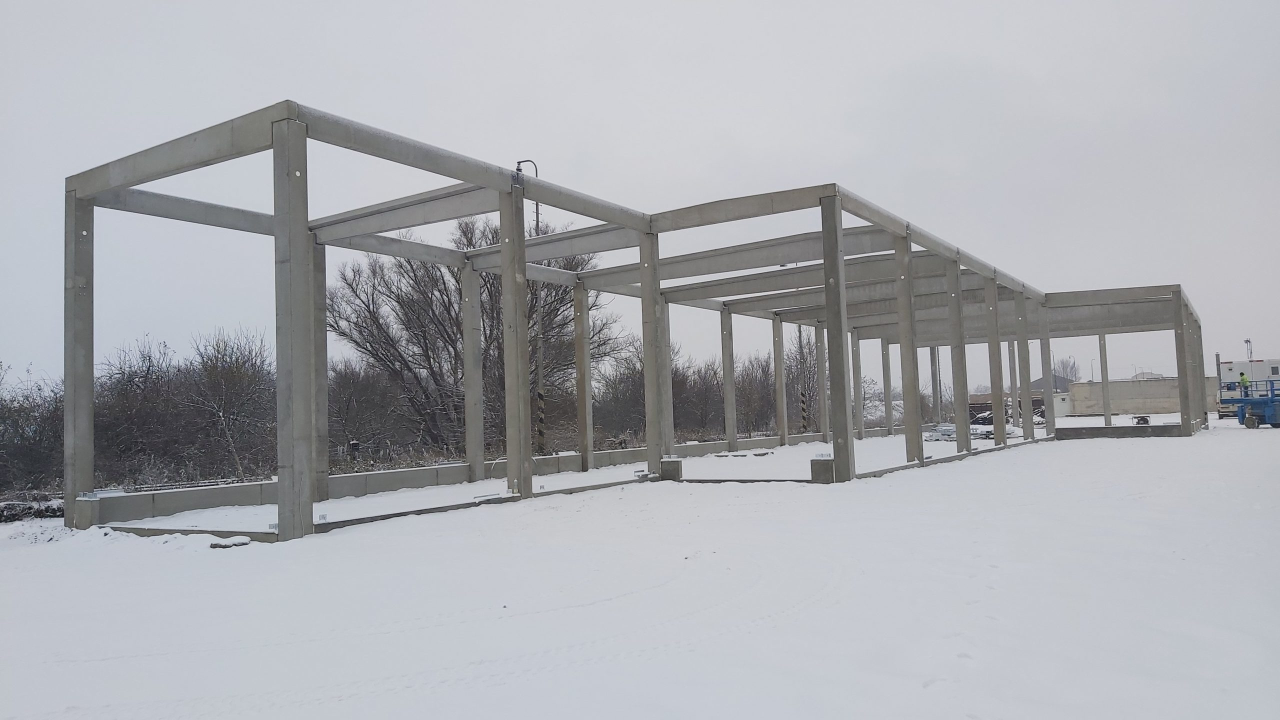 Montovaná hala pro STK Hrušovany